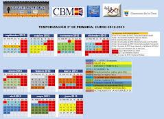 TEMPORIZACION  2012-13 SEGUNDO CICLO