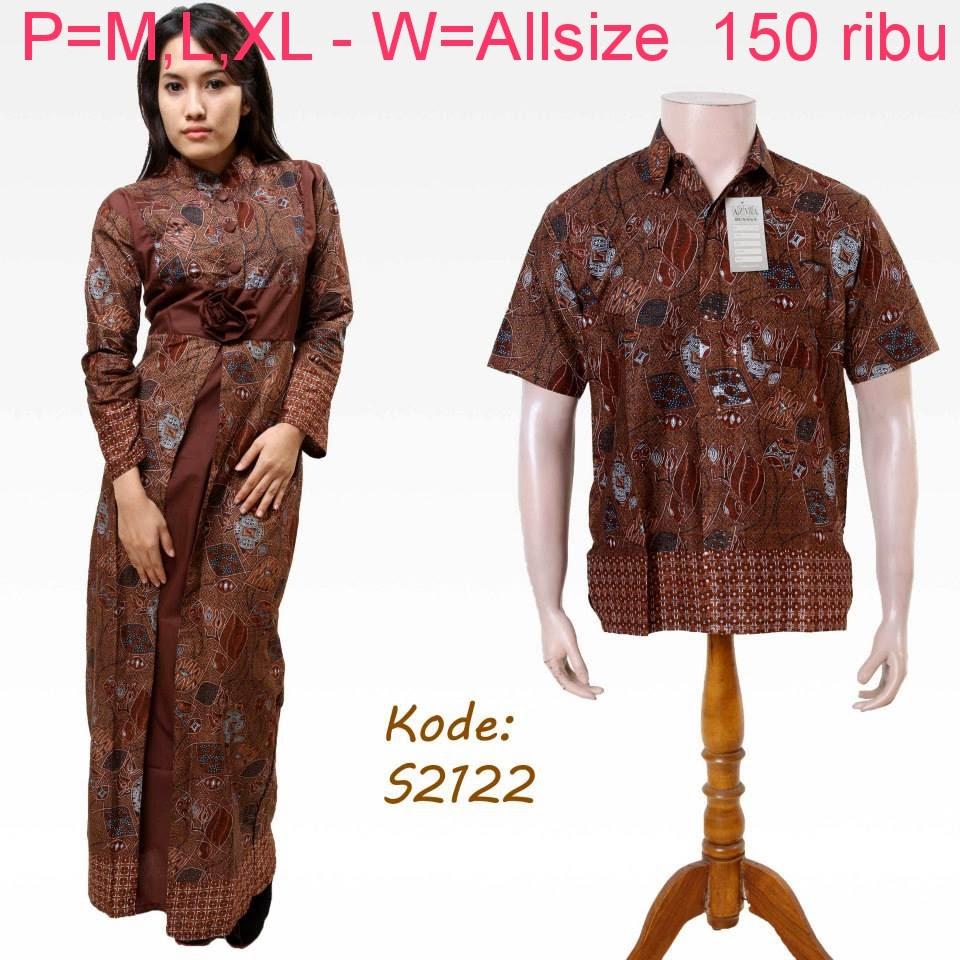 Baju Batik Pasangan Suami Istri Model Baju Batik