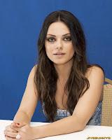 Mila Kunis Friends with Benefits portraits by Armando Gallo