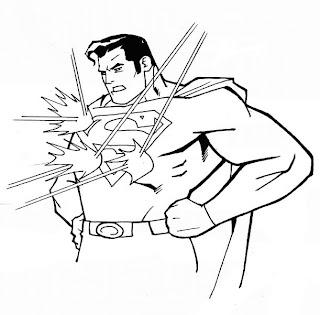Coloriage Superman à imprimer gratuitement Coloriages ca