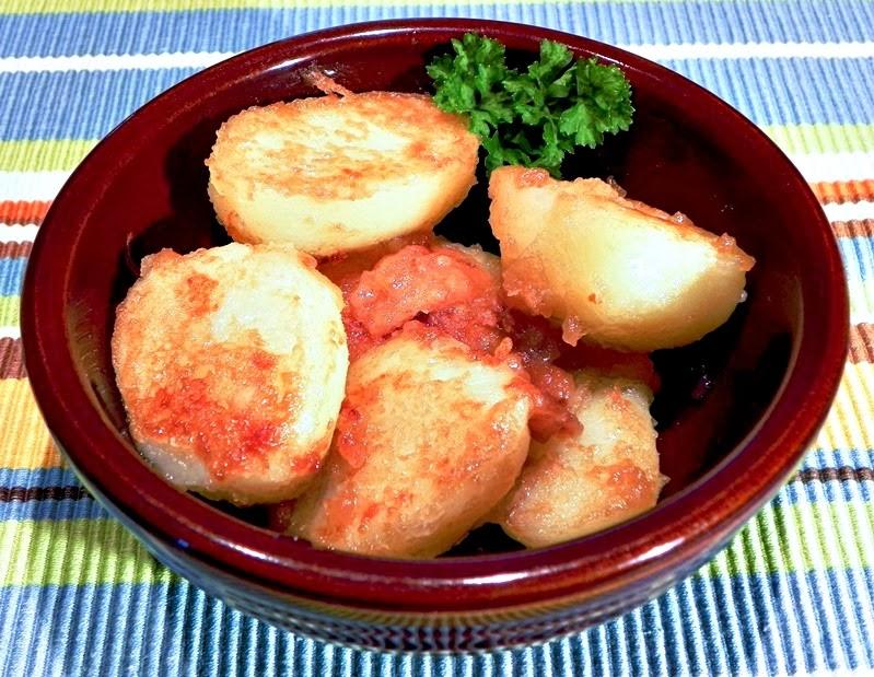 The Iowa Housewife Sukkerbrunede Kartofler
