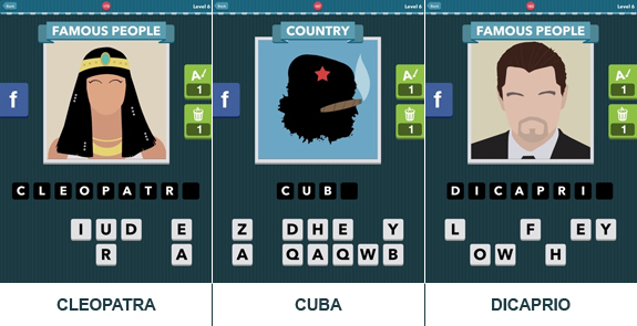 Icomania Level 6: cheats, hints, oplossingen en antwoorden