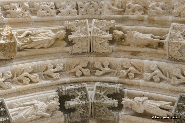 Quimper - cathédrale - voussures