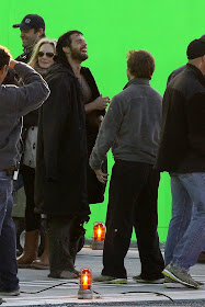 'Man of Steel' Set Pictures