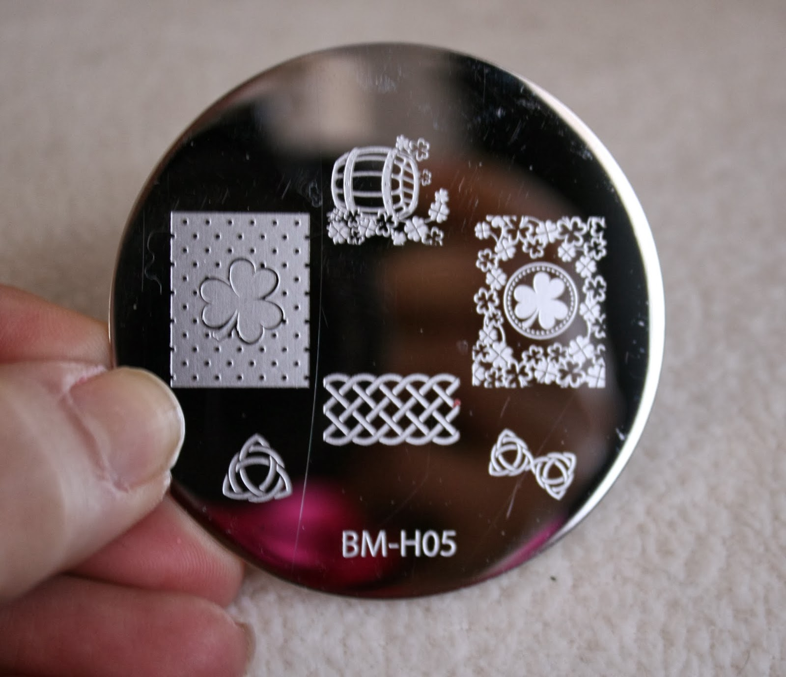 bundle monster nail stamping plates set collection holiday 2013 nails art stamp konad bm-h05