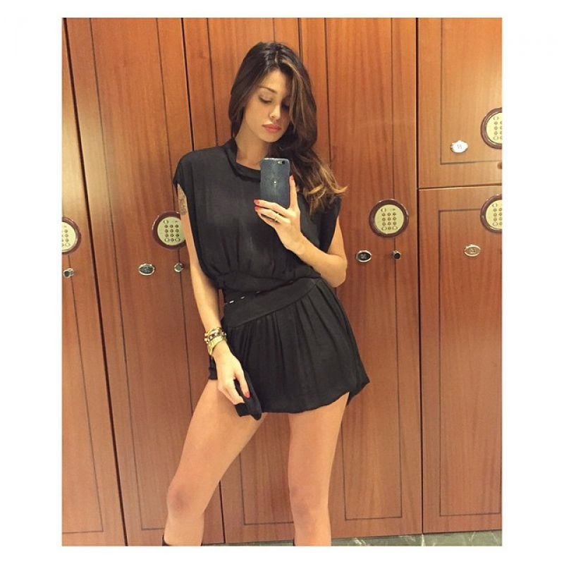 Белен Родригес или известная как Белен, аргентинская телеведущая, актриса и модель