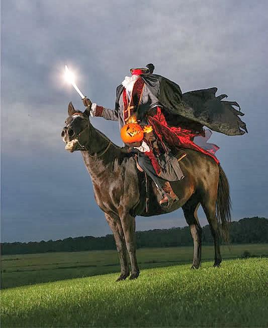 Headless Horseman at Conner Prairie Interactive History Park