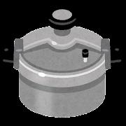 圧力釜・圧力鍋のイラスト