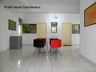 Wadi Iman Guesthouse, dining area, guesthouse, homestay, Shah Alam