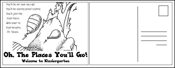 The Art of Teaching A Kindergarten Blog Items for Next Year – Oh the Places You Ll Go Worksheets