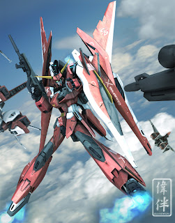 deviantart digital painting fanart gundam fan art sandrum saviour gundam imperfect