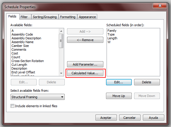 how to change units on revit