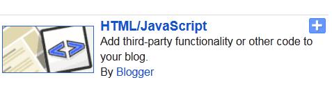 HTMl/Java Script Widget