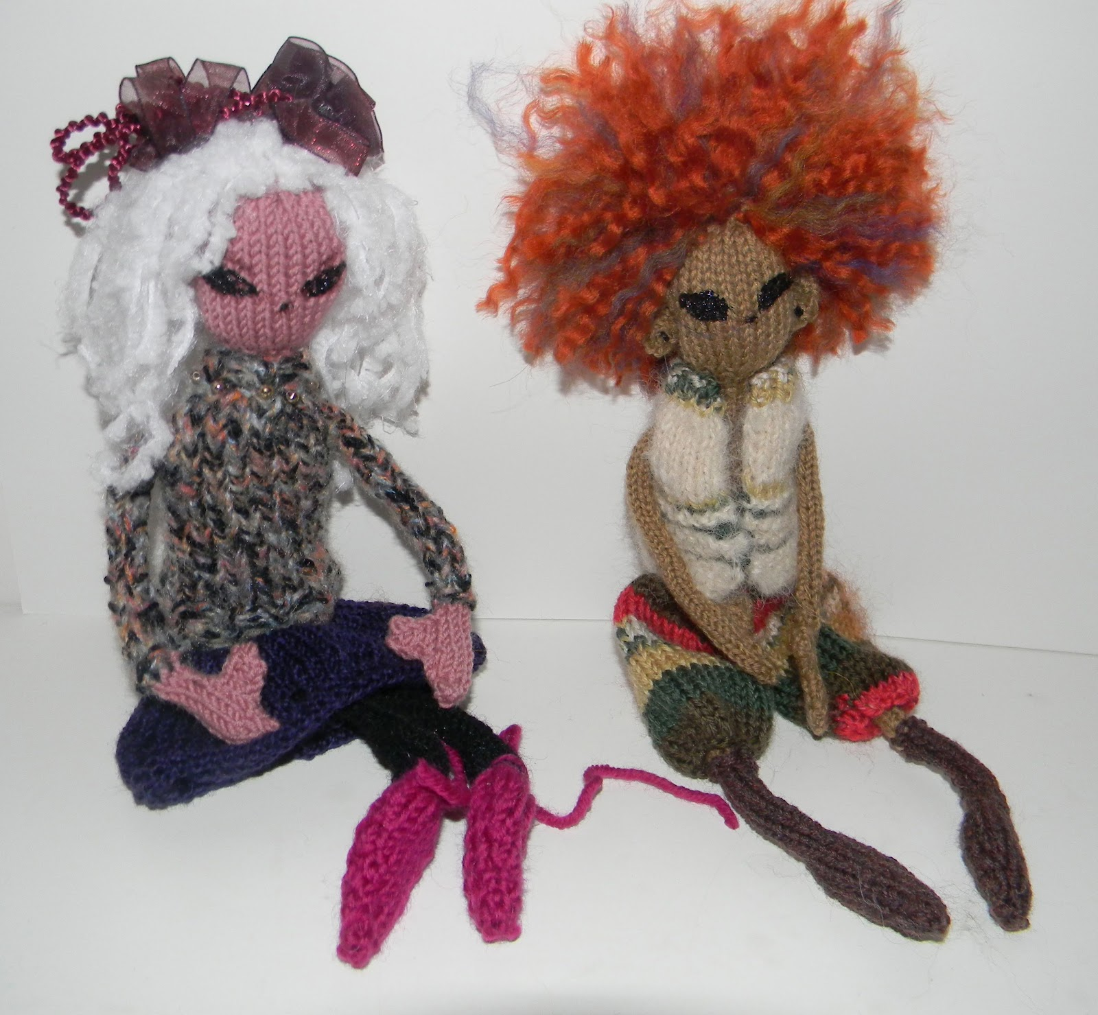 Louise Knits Knitted Dolls Pixies Fairies