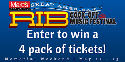 Marc's Great American Rib Cook-Off + Music Fest Sweepstakes
