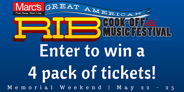 Win Marc's Great American Rib Cook-Off + Music Festival tickets