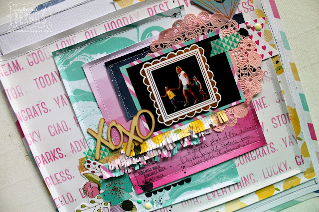 XO XO layout by Bernii Miller using Serendipity Collection.