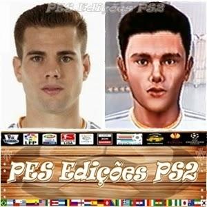 Nacho Fernández (Real Madrid) e Espanha PES PS2