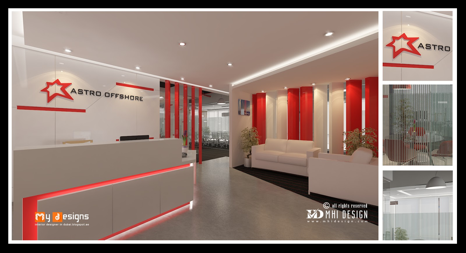 Office interior designs in dubai interior designer in uae for One agency interior design dubai