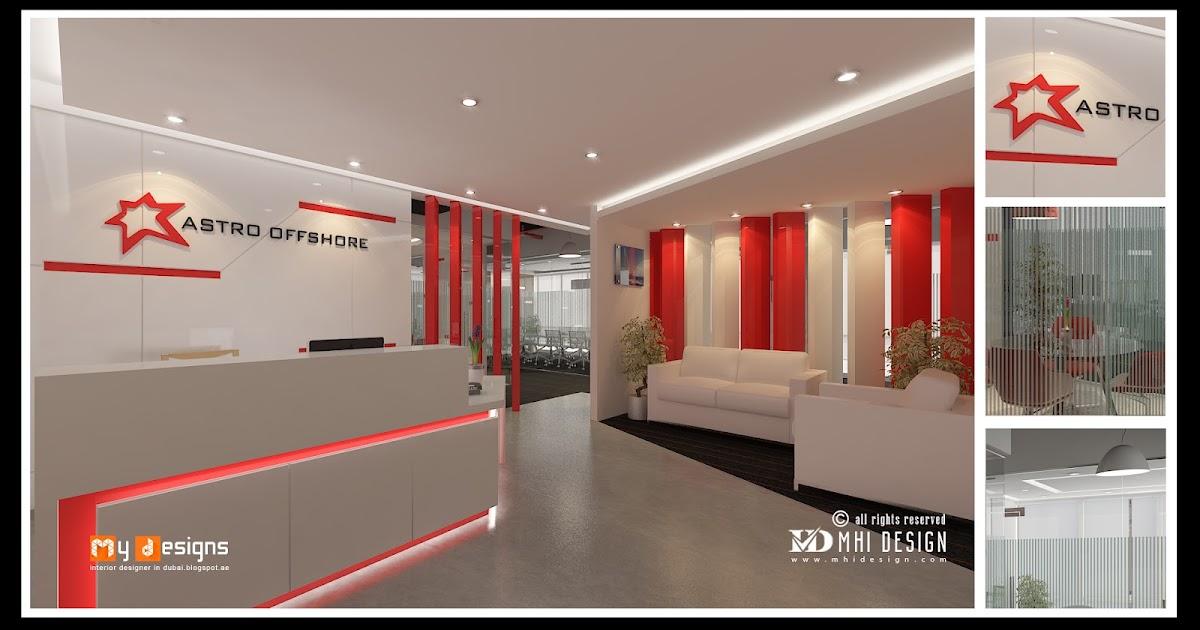 Dubai office office interior designs in dubai interior for Office design uae