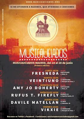 Nace Musicauciados, una iniciativa que ayudará a las víctimas de los desahucios a través de conciertos solidarios
