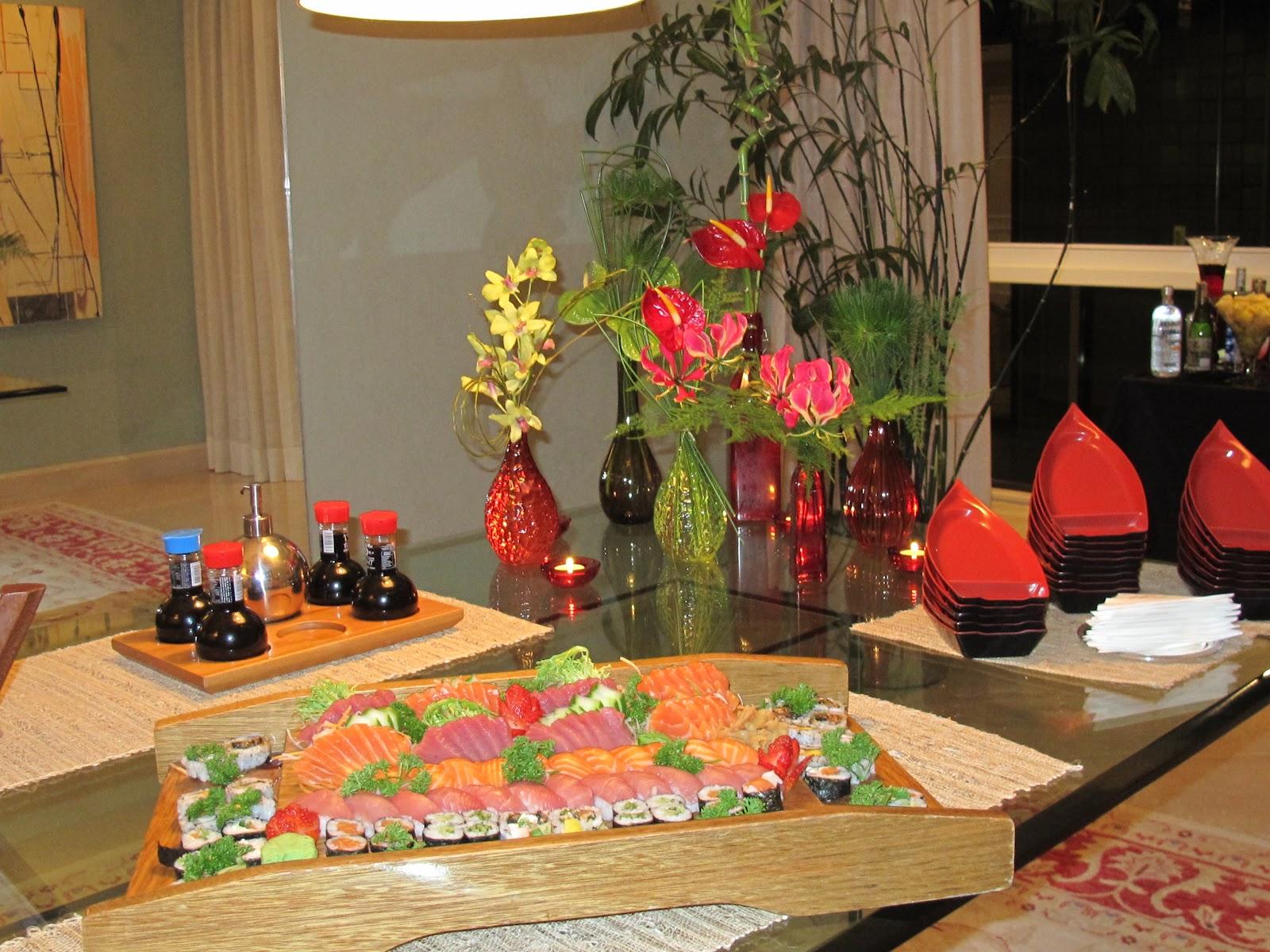 Blog da andrea rudge jantar japon s - Mesas japonesas ...