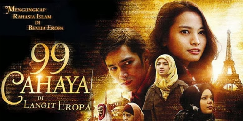 Download film 99 cahaya di langit eropa Gratis