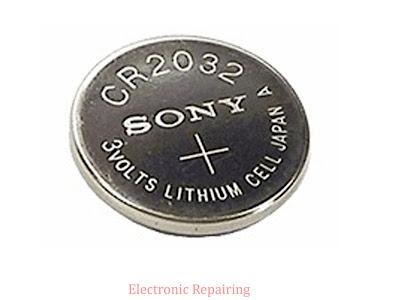 Replacing CMOS battery