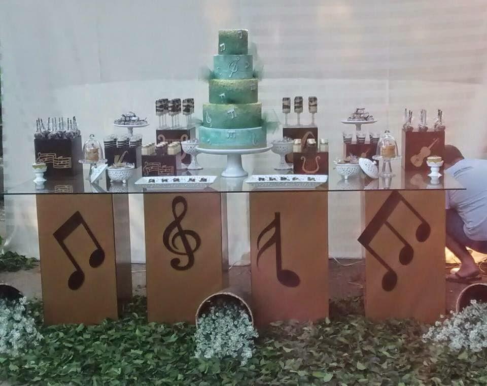 Barrozo ♥  Música  foi o tema da Festa de Aniversário da
