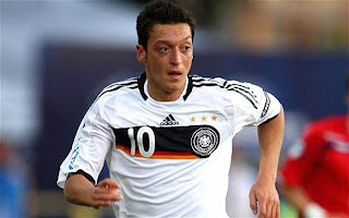 mezut ozil in euro 2012 wallpaper