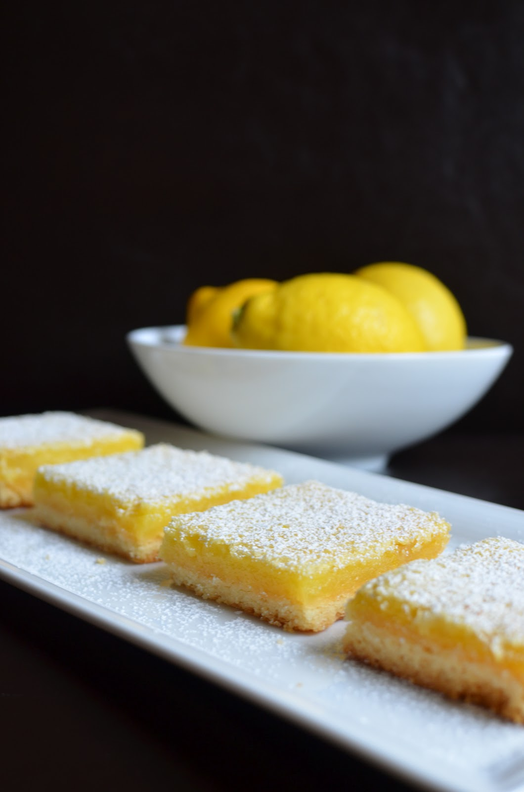 Playing with flour my first lemon bars but to make a long story short i actually did not make the cooking light version but went with the well known ina garten recipe instead with some help audiocablefo