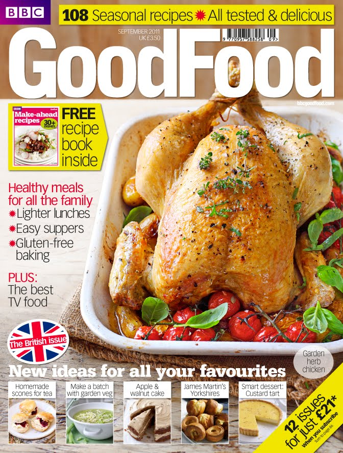 Appledrane Good Food Magazine September 11 Cover