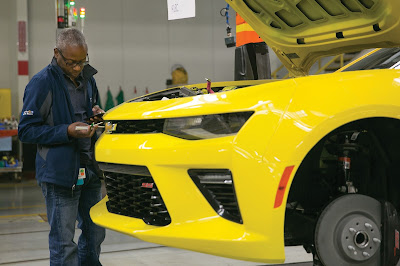 2016 Camaro will be Manufactured in Lansing