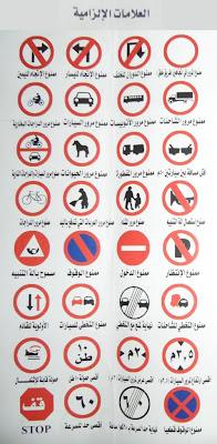 العلامات الإلزاميه للرخصة المصرية