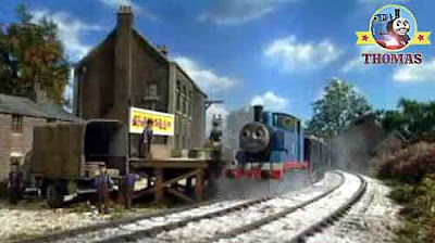 Thomas the train winter adventure toyshop the teddy bear and doll toy factory kids educational games