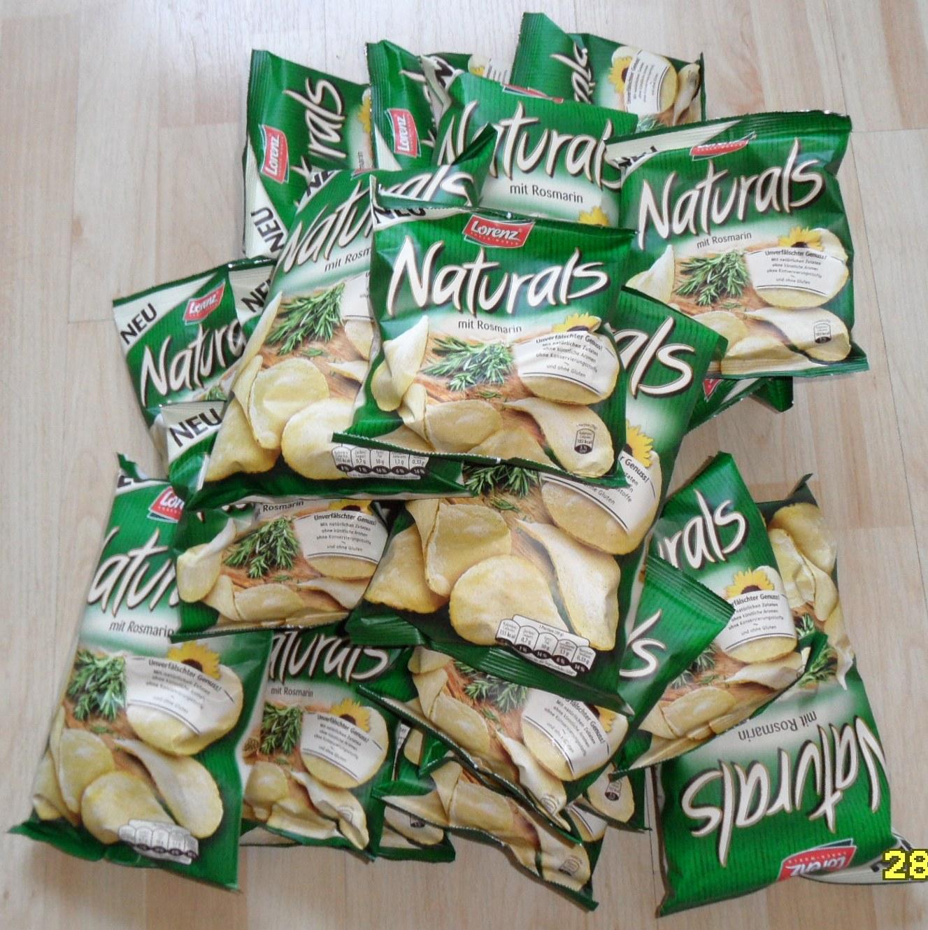 Glutenfrei leben im alltag chips naturals mit rosmarin for Minimalistisch leben erfahrungen