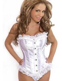 corset branco