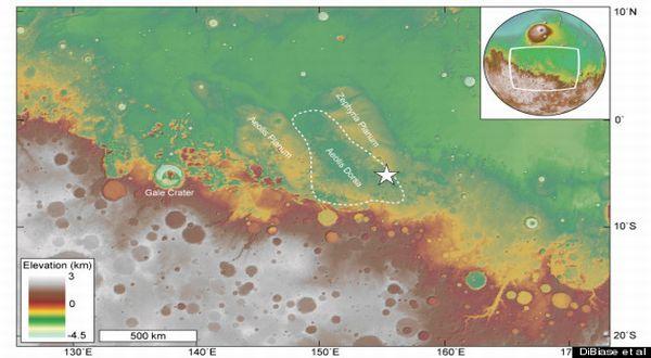 Samudra di Planet Mars Memiliki Air
