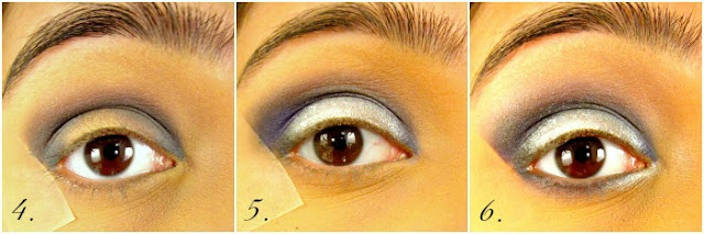 Intense Gunmetal Blue Eye Makeup Tutorial
