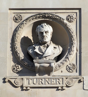 Bust of Turner, Piccadilly, London