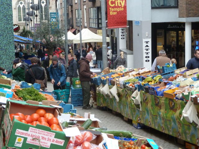 Food Market en Temple Bar