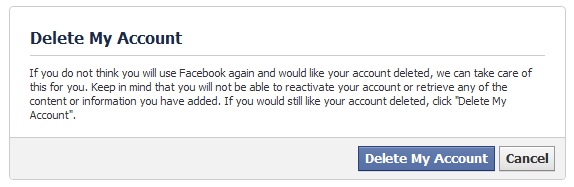 how to delete my twoo account permanently