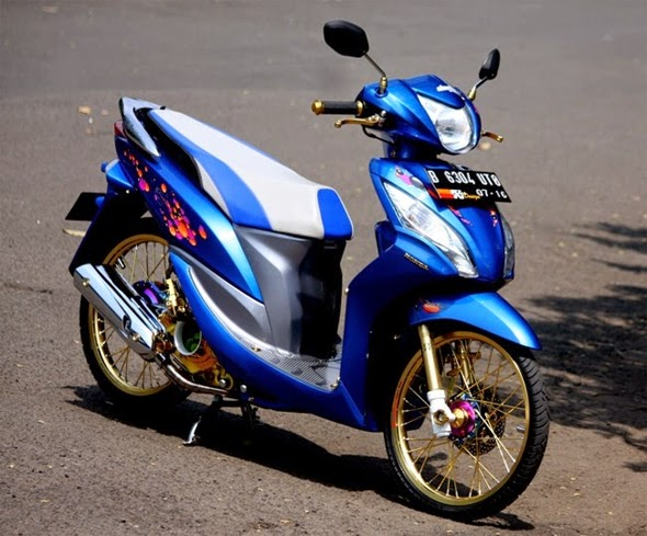 Dan Simple Modifikasi Honda Spacy 2017  Modifikasi Motor Keren 2017
