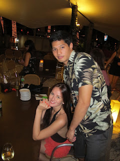 Georgina Wilson and Her Handsome Boyfriend Couple Photo 2011
