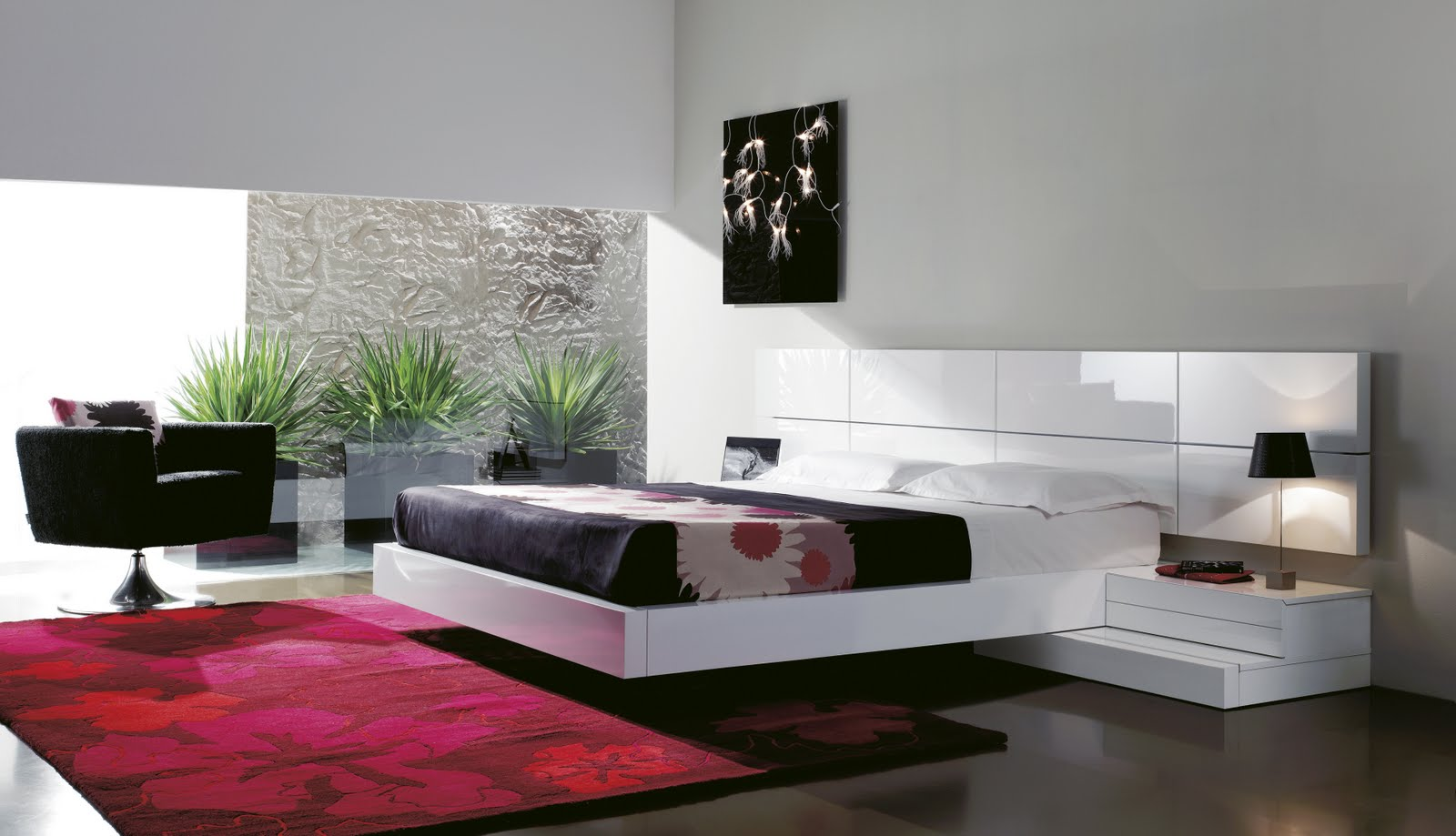 Dormitorios de matrimonio living for Muebles de decoracion online