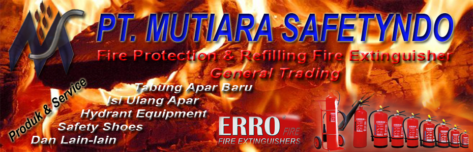 banner tabung pemadam api
