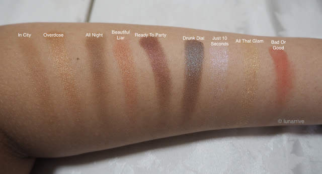 PONY EFFECT THAT GIRL HOLIDAY LIMITED COLLECTION SET SWATCHES REVIEW Lunarrive Singapore Lifestyle Blog