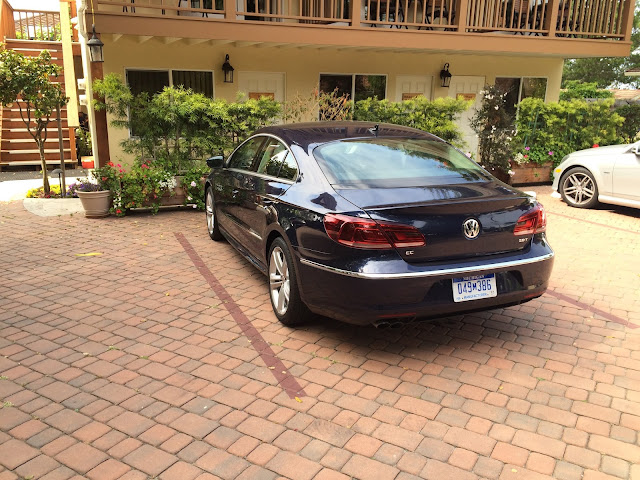 Rear 3/4 view of 2015 Volkswagen CC