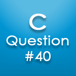 c questions answers