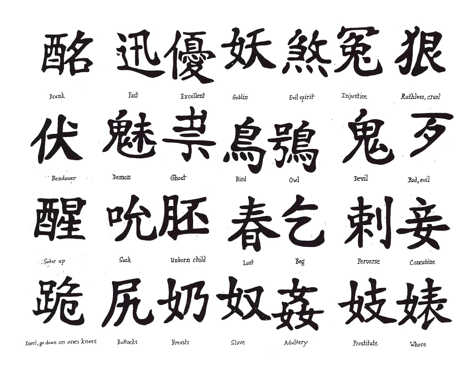 Tatoo Tatuajes Tatoo Tatuajes Chinos Palabras Nombre imagenes